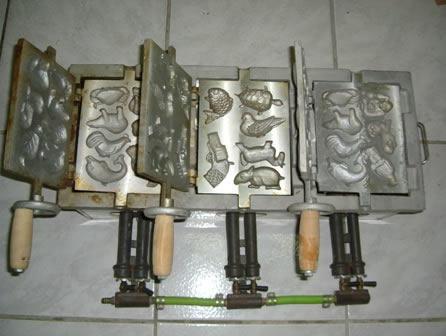 鸡蛋糕模具(3模--动物造型)-杨桃美食网
